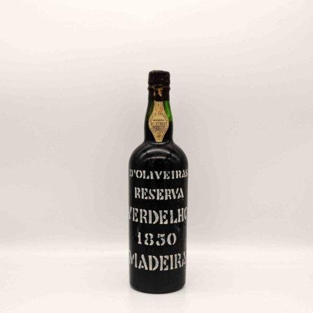 Oliveiras Verdelho Resereva Madeira 1850